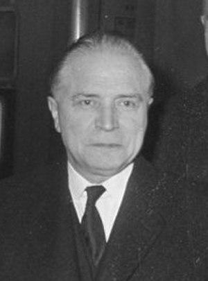 Belgian general election, 1949 - Image: Gaston Eyskens cropped