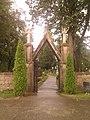 Gate to Babiržė cemetery - panoramio.jpg