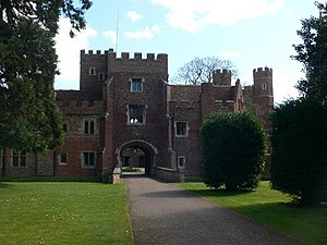 Buckden, Cambridgeshire - The Gatehouse at Buckden Towers