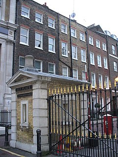 Ely Place Gated street in the London Borough of Camden