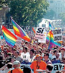 Homosexual marriage law passed