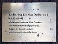 Gedenktafel Seestr 13 (Weddi) Max Delbrück.jpg