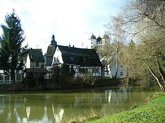 Gemünden, Rhein-Hunsrück - Simmerbach and Schloss Gemünden