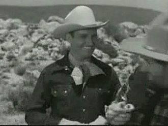 "Gene Autry - Gene Autry in The Gene Autry Show episode ""The Black Rider"", 1950"