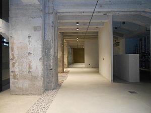 Gennaio 2015 - Memoriale della Shoah di Milano - Locali in allestimento.JPG