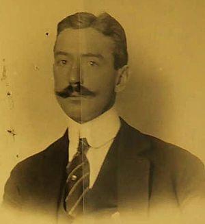 George A. Gordon - George A. Gordon's 1920 diplomatic passport photo.
