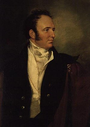 George Bridgeman, 2nd Earl of Bradford - Portrait by Sir George Hayter