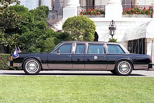 Ford Panther platform - A 1989 Lincoln Town Car modified into a Presidential State Car for George H.W. Bush.