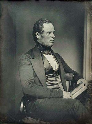 George N. Briggs - Portrait by Southworth & Hawes, c. 1848