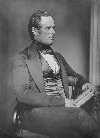 Marcus Morton - George N. Briggs defeated Morton in the 1843 election.