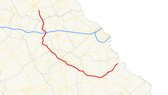 Georgia State Route 80 - Image: Georgia state route 80 map