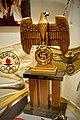 German Third Reich propaganda items. Nazi Reichsadler Parteiadler, Berlin 1936 Olympic games pennant, gorget, etc Lofoten Krigsminnemuseum 2019-05-08 DSC00325 cropped.jpg