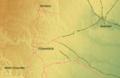 Ghardaïa commune map.png