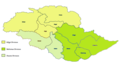 Gilgit Baltistan Administrative divisions and districts.png