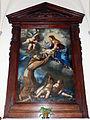 Giovan battista vanni, il beato felice da cantafelice riceve gesù bambino dalla madonna, 1650.JPG
