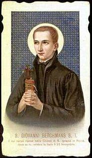 John Berchmans Catholic jesuit saint