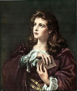 Girl with a Bible (Faith of Our Fathers).jpg