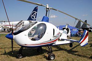 Russian Gyroplanes Gyros-2 Smartflier - Gyros-2 Smartflier