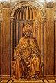 Giuliano da maiano e alesso baldovinetti, tarsie della sagrestia delle messe, 1436-1468, 02 ss. eugenio, zanobi e crescenzio 4,0.jpg