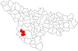 Vị trí của Giulvaz