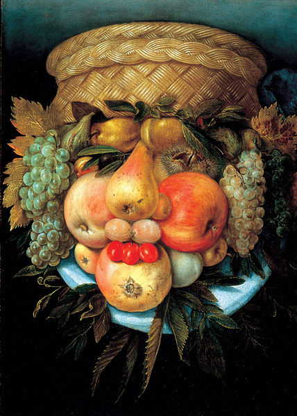 File:Giuseppe Arcimboldo - Fruit Basket.jpg