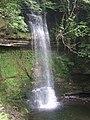 Glencar waterfall - 'The stolen child' - geograph.org.uk - 1956807.jpg