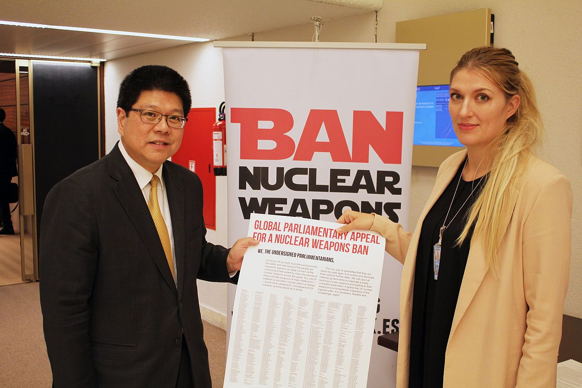 A debate on nuclear weapons and the dangers they bring