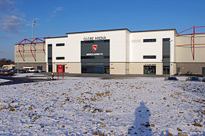 Globe Arena (football stadium) - Peter McGuigan Stand