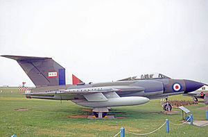 No. 29 Squadron RAF - Gloster Javelin FAW.9 wearing No. 29 Squadron markings