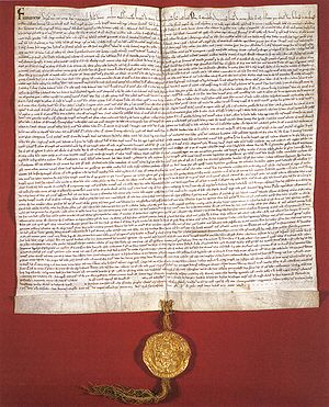 Golden Charter of Bern - The Golden Charter of Bern.