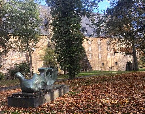 Goslarer Krieger im Kaiserpfalzgarten Goslar