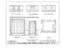 Governor Levi Woodbury House, Woodbury Avenue and Boyd Road, Portsmouth, Rockingham County, NH HABS NH,8-PORT,123- (sheet 44 of 51).png