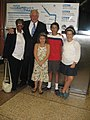Governor Quinn with Jacky and her grandchildren (3840156713).jpg