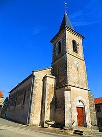 Grémecey l'église Saint-Vit.JPG