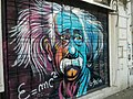 Grafitti de Einstein en la calle San Luis.jpg
