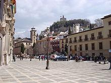Granada espanha wikip dia a enciclop dia livre - Parking plaza puerta real en granada ...