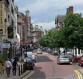 Leicester City Centre - Granby Street.