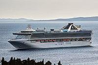 Grand Princess (ship, 1998) IMO 9104005; in Split, 2011-10-13
