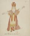 Grand prêtre de Brama, maquette de costume pour Tarare, 1787.png