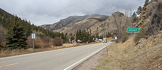 Grant, Colorado Unincorporated community in Colorado, United States