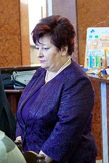 Grażyna Ciemniak Polish politician