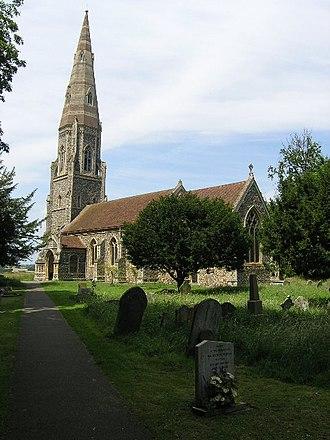 Great Finborough - Image: Great Finborough (Suffolk) St Andrew's Church geograph.org.uk 68591