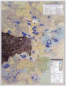 Jerusalem Center Of The World Map.Status Of Jerusalem Wikipedia