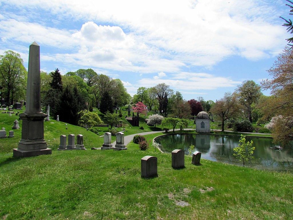 Cementerio de Brooklyn. New York.