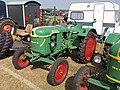 Green Deutz luftgeguhlt with red wheels.JPG