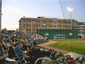 Fluor Field at the West End - Image: Greenville Drive