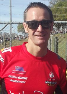 Greg Murphy New Zealand racing driver