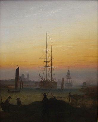 The Port of Greifswald - Image: Greifswld Hafen CD Friedrich(1)