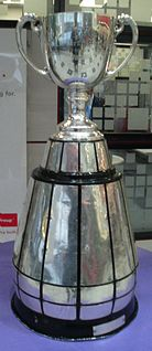 Grey Cup Championship game and trophy of the Canadian Football League