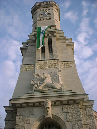 Battle of Großbeeren - Memorial tower in Großbeeren